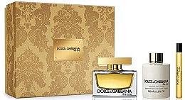 Parfémy, Parfumerie, kosmetika Dolce & Gabbana The One - Sada (edp/75ml + b/lot/100ml + edp/10ml)