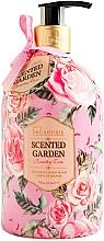 Parfémy, Parfumerie, kosmetika Tekuté mýdlo na ruce - IDC Institute Scented Garden Hand Wash Country Rose