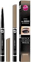 Parfémy, Parfumerie, kosmetika Vosk v tužce na úpravu obočí - Bell Wax Eye Brow Pencil