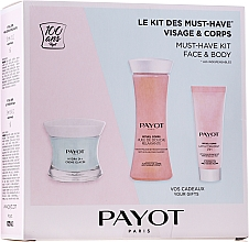 Parfémy, Parfumerie, kosmetika Sada - Payot Hydra 24+ Must-Have Kit Face & Body (cr/50ml + sh/oil/125ml + b/lot/25ml)