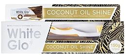 Parfémy, Parfumerie, kosmetika Sada - White Glo Coconut Oil Shine (toothpaste/120ml + toothbrush)