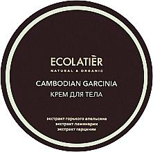 Parfémy, Parfumerie, kosmetika Anticelulitidní tělový krém Garcinie kambodžská - Ecolatier Cambodian Garcinia Body Cream