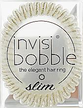 Parfémy, Parfumerie, kosmetika Gumička na vlasy-náramek - Invisibobble Slim Stay Gold