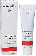 Parfémy, Parfumerie, kosmetika Deodorační krém na nohy - Dr. Hauschka Deodorizing Foot Cream