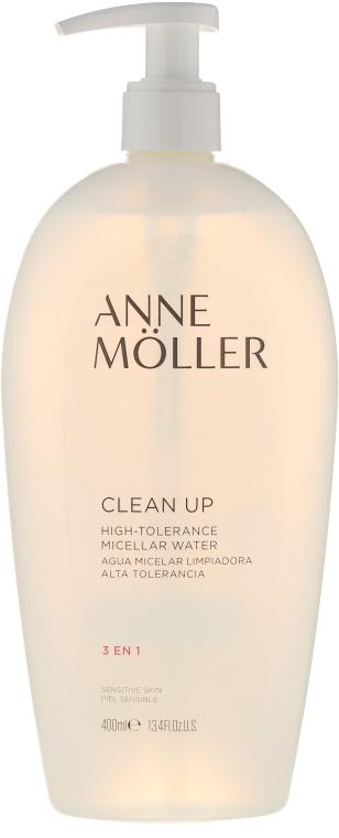 Čisticí micelární voda 3v1 - Anne Moller Clean Up Sensitive eau micellaire 3 en 1 — foto N1