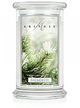 Parfémy, Parfumerie, kosmetika Vonná svíčka ve skle - Kringle Candle Balsam Fir