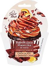 Parfémy, Parfumerie, kosmetika Regenerační maska na obličej - Marion Sweet Mask Chocolate Orange Cake