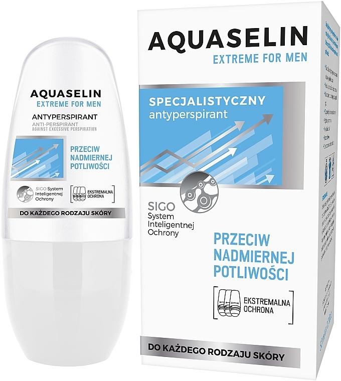 Antiperspirant proti nadměrnému pocení pro muže - Aquaselin Extreme For Men