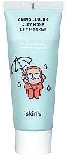 Parfémy, Parfumerie, kosmetika Hydratační hliněná maska - Skin79 Animal Color Clay Mask Dry Monkey