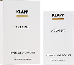 Parfémy, Parfumerie, kosmetika Náplasti na oči Vitamín A - Klapp A Classic Eye Care Pads