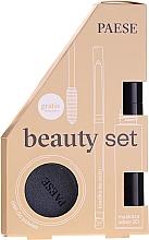 Parfémy, Parfumerie, kosmetika Sada - Paese (mascara/13ml + eyeliner/0.31g + eyeshadow/3g)