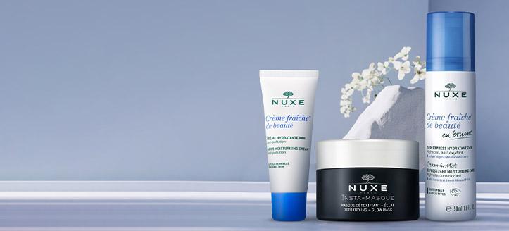 Získej hydratační pleťový krém jako dárek k nákupu produktů Nuxe v hodnotě nad 553 Kč