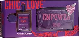 Parfémy, Parfumerie, kosmetika Chic&Love Empower - Sada (edt/100ml + bag)