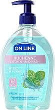 Parfémy, Parfumerie, kosmetika Mýdlo do kuchyně - On Line Kitchen Hand Wash Fresh Soap
