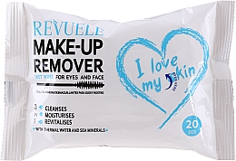 Parfémy, Parfumerie, kosmetika Odličovací vlhčené ubrousky s termální vodou - Revuele Make-Up Remover I Love My Skin Wet Wipes