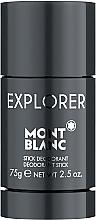 Parfémy, Parfumerie, kosmetika Montblanc Explorer - Tuhý deodorant antiperspirant