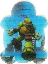 Parfémy, Parfumerie, kosmetika Dětská houba na mytí Želvy Ninja Raphael 3 - Suavipiel Turtles Bath Sponge