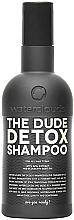 Parfémy, Parfumerie, kosmetika Šampon Detox - Waterclouds The Dude Detox Shampoo
