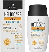 Parfémy, Parfumerie, kosmetika Dětský minerální opalovací gel-krém SPF 50+ - Cantabria Labs Heliocare 360? Pediatrics Mineral SPF 50+