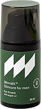 Parfémy, Parfumerie, kosmetika Krém na oční víčka s argánovým olejem - Monolit Skincare For Men Eye Cream With Argan Oil