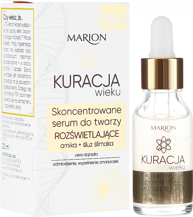 Vysoce koncentrované obličejové sérum - Marion Age Treatment Serum 70+