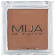 Parfémy, Parfumerie, kosmetika Bronzer na obličej - MUA Bronzer Sunkissed Bronze
