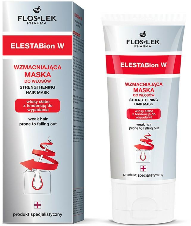 Zpevňující maska na vlasy - Floslek ELESTABion W Strengthening Hair Mask — foto N1