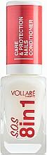Parfémy, Parfumerie, kosmetika Léčivý přípravek na nehty - Vollare Cosmetics SOS 8in1