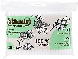 Parfémy, Parfumerie, kosmetika Vatové tyčinky, 160 ks - Cashmir Natural Cotton Buds