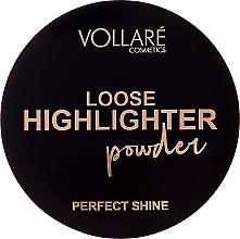 Parfémy, Parfumerie, kosmetika Sypký rozjasňovač - Vollare Loose Highlighter Powder Perfect Shine