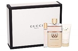 Parfémy, Parfumerie, kosmetika Gucci Guilty Pour Femme - Sada (edp/90ml + edt/7.4ml + b/lot/50ml)