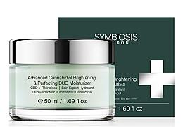 Parfémy, Parfumerie, kosmetika Hydratační zesvětlující pleťový krém - Symbiosis London Advanced Cannabidiol Brightening & Perfecting DUO Moisturiser