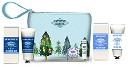 Parfémy, Parfumerie, kosmetika Sada - Institut Karite Shea (butter/10ml + lipstick/4g + h/cr/75ml + foot/cr/75ml + bag)