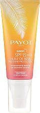 Parfémy, Parfumerie, kosmetika Ochranný suchý olej na tělo a vlasy - Payot Sunny The Sublimating Tan Effect Body and Hair SPF15