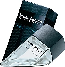 Parfémy, Parfumerie, kosmetika Bruno Banani About Men - Toaletní voda
