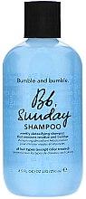 Parfémy, Parfumerie, kosmetika Šampon pro hluboke čištění - Bumble and Bumble Sunday Shampoo