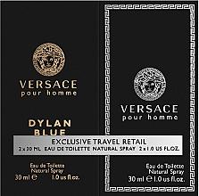 Parfémy, Parfumerie, kosmetika Versace Dylan Blue Pour Homme - Sada (edt/30ml + edt/30ml)
