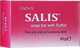 Parfémy, Parfumerie, kosmetika Sirné mýdlo pro mastnou a problematickou pleť - Egza-S Salis Soap Bar With Sulfur