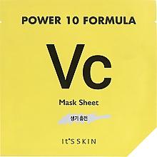 Parfémy, Parfumerie, kosmetika Plátýnková maska tonizační - It's Skin Power 10 Formula Mask Sheet VC