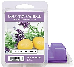 Parfémy, Parfumerie, kosmetika Vosk na aromatickou lampu - Country Candle Lemon Lavender Wax Melts