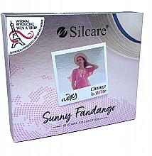 Parfémy, Parfumerie, kosmetika Sada - Silcare Flexy Sunny Fantango (gel nail/4x4.5g)