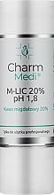 Parfémy, Parfumerie, kosmetika Kyselina mandlová 20% - Charmine Rose Charm Medi M-Lic 20% pH 1.8