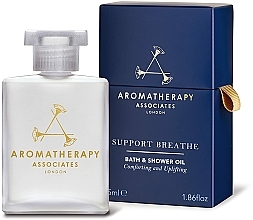 Parfémy, Parfumerie, kosmetika Olej do koupele a sprchy - Aromatherapy Associates Support Breathe Bath & Shower Oil