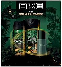 Parfémy, Parfumerie, kosmetika Axe Wild - Sada (deo/150ml + sh/gel/250ml + edt/50ml)