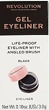 Parfémy, Parfumerie, kosmetika Oční linky se štětcem - Makeup Revolution Gel Eyeliner Pot With Brush