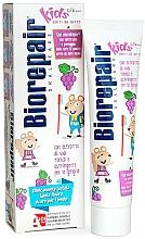 Parfémy, Parfumerie, kosmetika Zubní pasta Veselá myš, hrozny - Biorepair Kids Milk Teeth