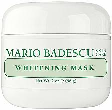Parfémy, Parfumerie, kosmetika Zesvětlující pleťová maska - Mario Badescu Whitening Face Mask