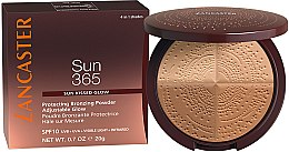 Parfémy, Parfumerie, kosmetika Bronzující pudr - Lancaster 365 Sun Protecting Bronzing Face Powder SPF10 Adjustable Glow