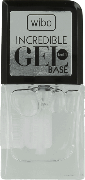 Podkladová báze pod gel lak - Wibo Incredible Gel Base