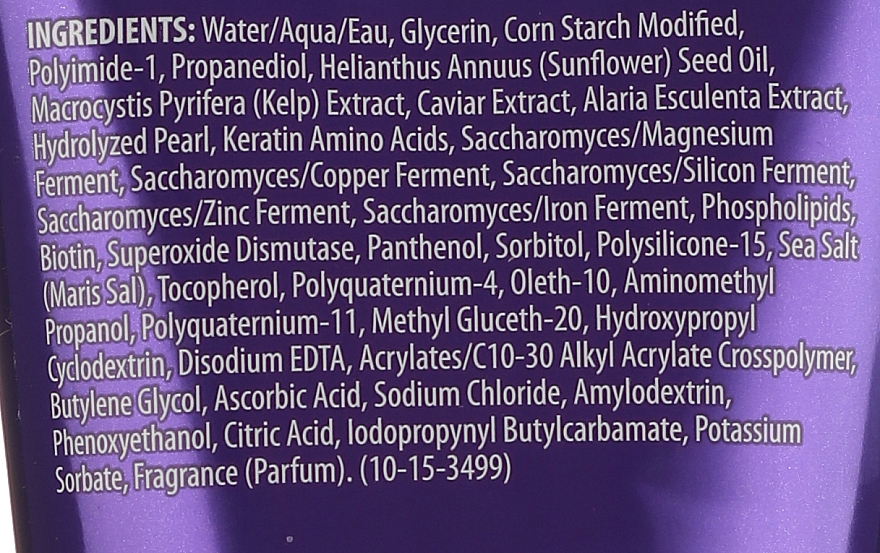Modelující krém-gel pro přidání vlasům lesku s výtažkem z kaviáru - Alterna Caviar Style Luxe Shape Versatile Creme Gel — foto N3